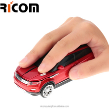 2.4G wireless OEM LOGO/shape/color car type gift computer mouse