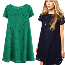 Women's Self Portrait Dress Sexy Lace Crochet Floral Casual Dresses Mini Party Evening Cocktail Dress New Fashion Apparel