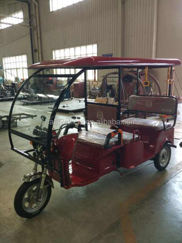 India Taxi Electric Riskshaw/tricycle 6 passenger factory supply