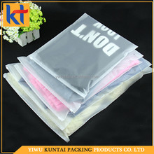 wholesale price OEM/ODM service custom made pe garment bag.clothes plastic bag