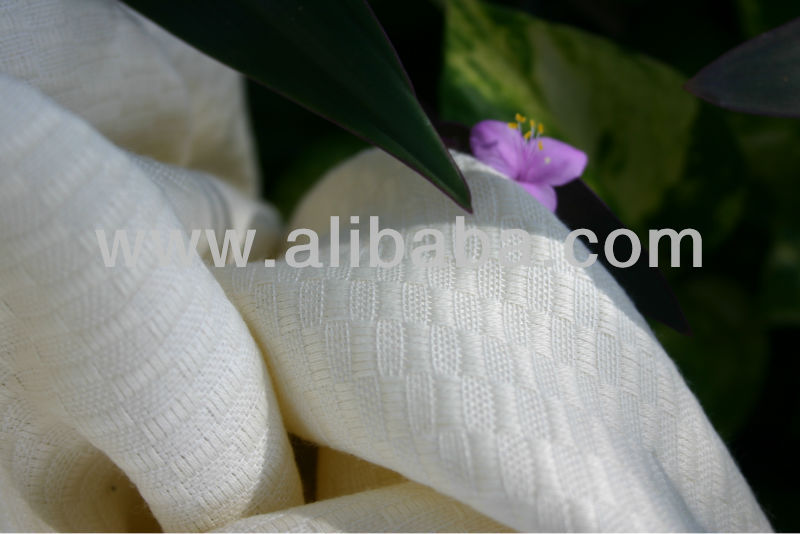 Luxury Outdoor Horizontal Woven Fabric, 100% Soulution-Spun Polyester