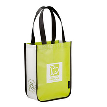 Reusable Cheap Fancy Laminated PP Non Woven Tote Wine Gift Bags