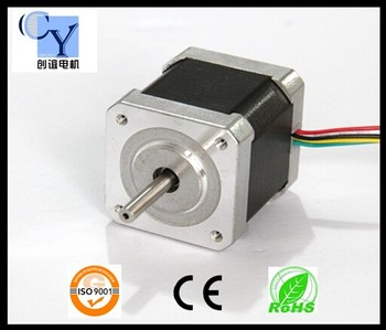Nema 17 high holding torque high rpm low current stepper for Low profile stepper motor