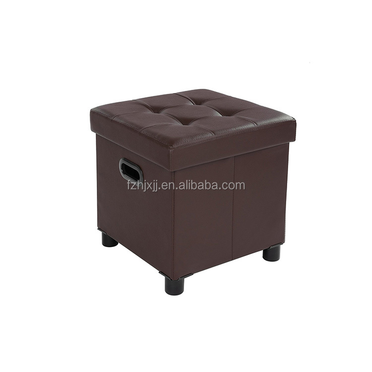 Hot Selling Furniture Home Storage Ottoman On Wheels