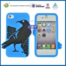 C&T bird pattern for iphone4 cell phone cases