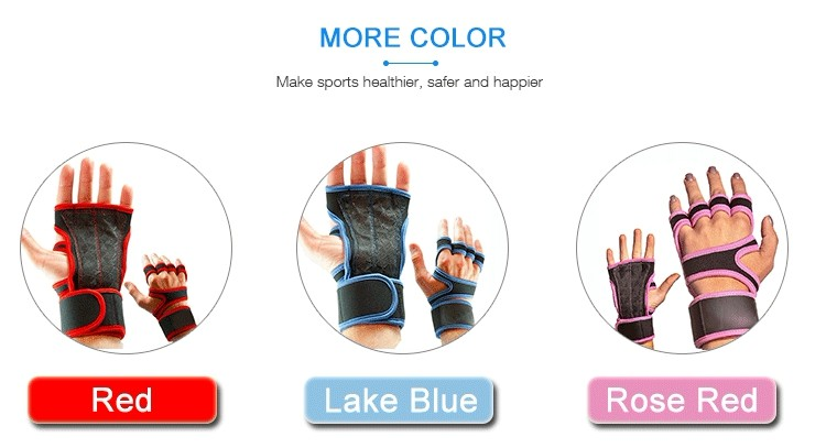 2017 New Fashion Custom Gym Cross Fit Gloves