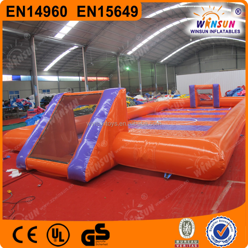 Inflatable Table Giant Team Building Inflatable Babyfootinflatable Human Table