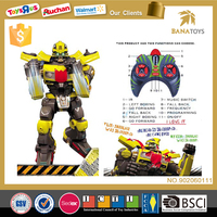Child interactive intelligent electric fighting plastic robot toys