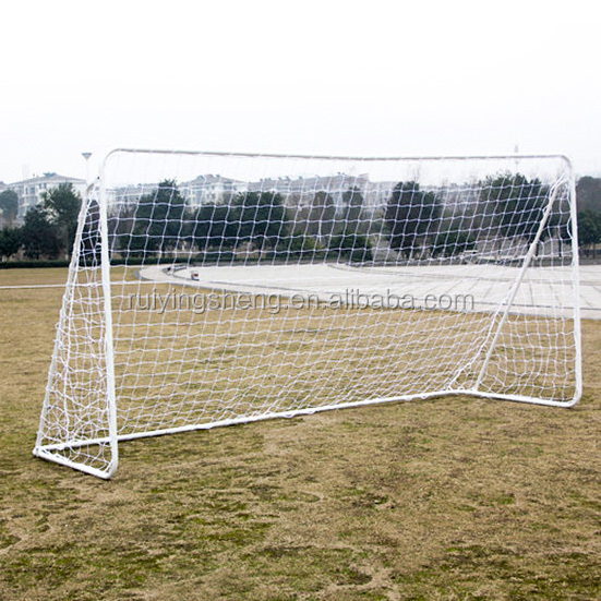 Durable quality metal frame soccer goal
