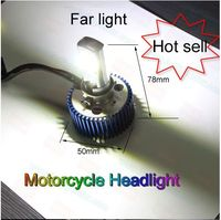 Hot Sales Motorcycle Headlight, 9-15V high power moto headlight, far and low beam light for motorcycle