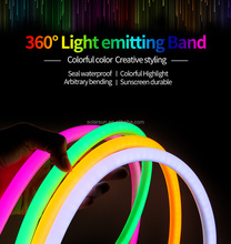 flexible neon 5050 3014 2835 waterproof RGB 14.4W 12V 220V led strip light