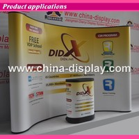 Promotion event portable pop up display stand