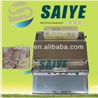 Hot sale cling film packing mchine for supermarket