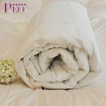 Hypoallergenic king bed plain white comforter