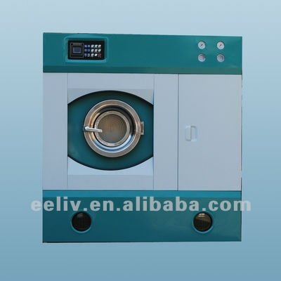 Commercial hydrocarbon dry cleaning machine