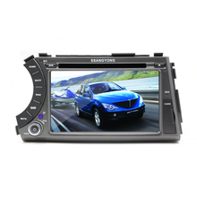 "7"" Double DIN Touch screen Android OS Car DVD player GPS Navigation for SSANGYONG ActYon"