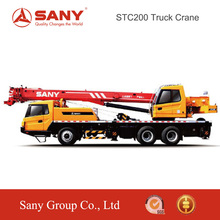 SANY STC200 20 Tons Mobile Crane Truck of Hoist Cranes for 41.5m Max Lifting Height
