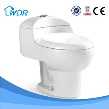 Flushing chinese factory price ivory color toilet