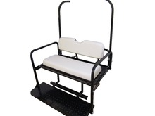 Cheap Golf Cart Parts Club Car DS Old White Rear Seat for Electric Golf Cart Sale