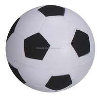 soft ball shape and stress ball type PU foam soccer ball