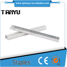 Manufacturing! Pneumatic staples of all sizes Carton fastening nails electrical wire staples