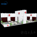 Tension fabric display exhibition system booth display
