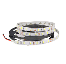 High quality IP20 no waterproof 5630 SMD LED strip light DC12V 5m rope fleixble string lighting indoor decor Ribbon tape lamp