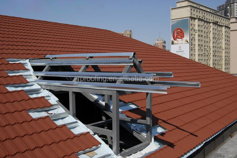 Hot Selling Used Roof Tiles For Sale Stone Coated Metal