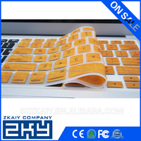New Classiclap top Wood Grain Keyboard Cover Silicone Skin Protector for MacBook