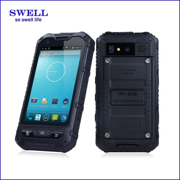 A8S Android5.1 NFC portable touch screen simple mobile phones for transportation and logistics