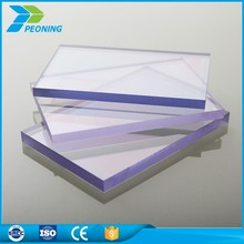 4x8 sheet plastic clean single wall polycarbonate sheet