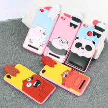 Trending products,Lovely Toys Cute 3D Cartoon Panda Bear Soft TPU Kawaii Phone Case for Samsung NOTE 3/NOTE 4/NOTE 8