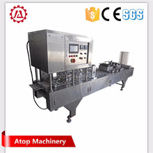 machine make instant coffee powder high quality capsule filling rotary type cup filling