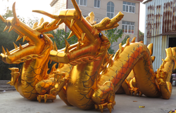2014 customized China inflatable giant dragon for advertising,inflatable dragon