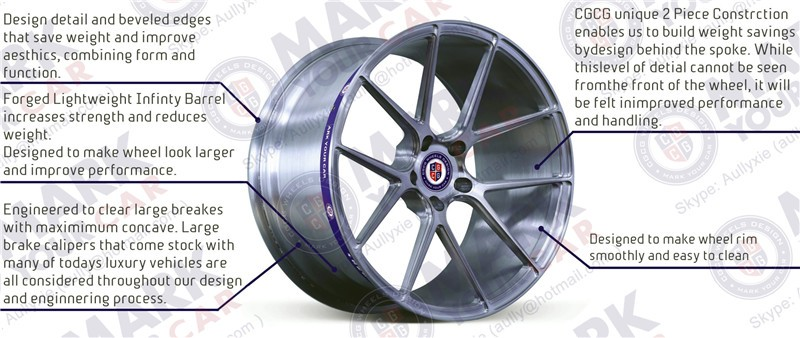 What are some benefits of knock-off rims?