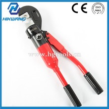 handheld hydraulic hose crimping tool with safety valve inside