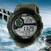 Chinese Factory Korean Fashion Style Military Watches Men