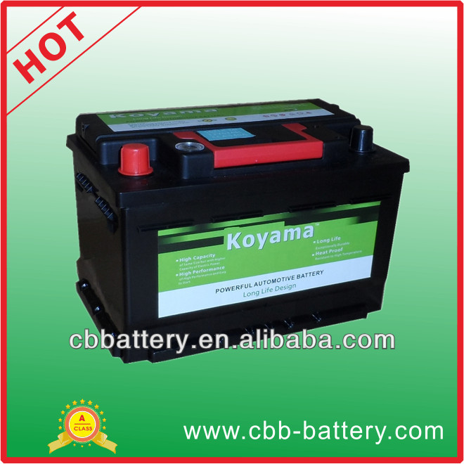 Most attractive price car battery 56318MF Maintenance free car battery 63Ah for car jump starting