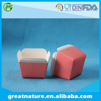 Cupcake square paper baking cups