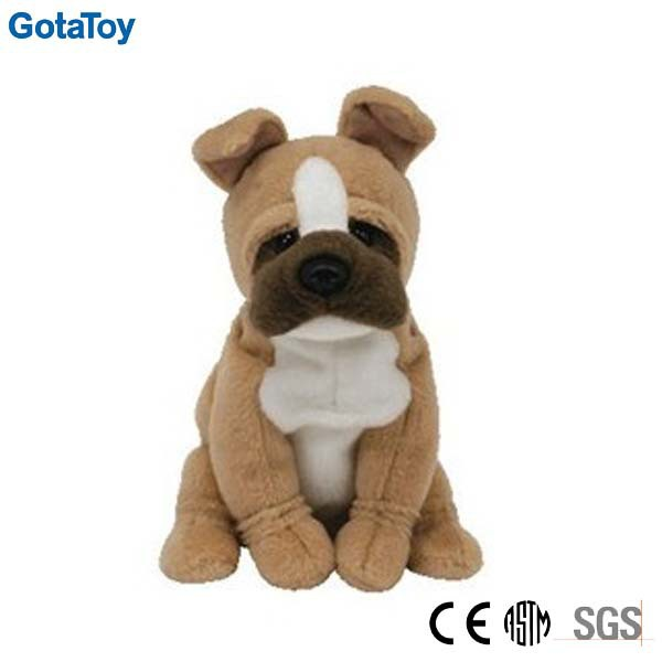 Hot sales custom soft stuffed bulldog plush stuffed dog