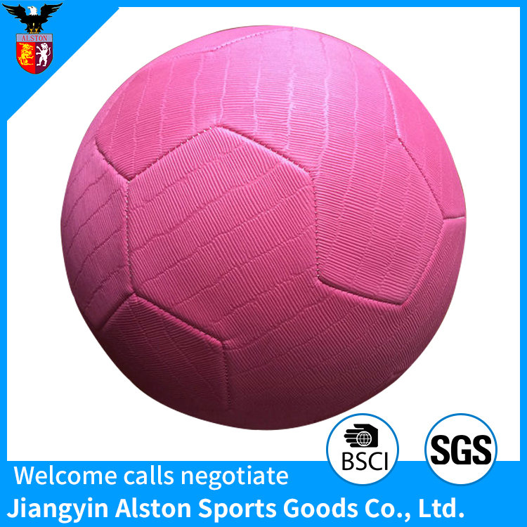 High Quality Soft Perfect Experienced EVA Material Football For Sports