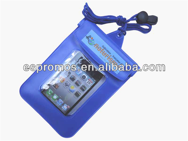 2014 Eco-friendly 1-2meters sealed waterproof bag for iphone mobile phone and ipad