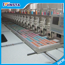 15 head computerized embroidery machine,12 color embroidery machine china