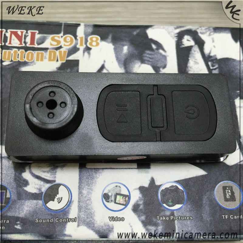640*480 4GB Remote Control button hole camera