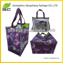 New model large size laminated non woven tote bags