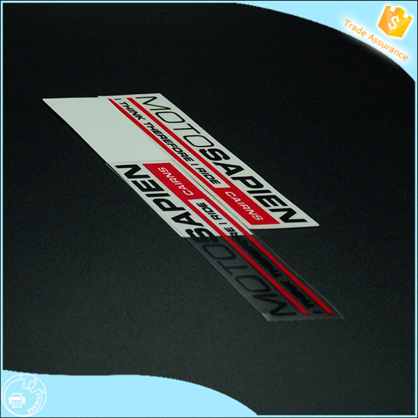 transparent car sticker/transparent windshield stickers
