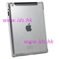 Clear Crystal Hard Case for iPad 2 Work With Smart Cover