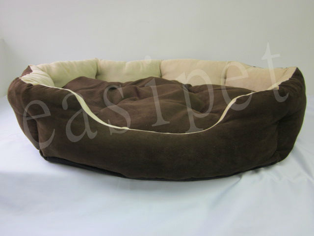 90cm Oval Pet Bed with Cushion