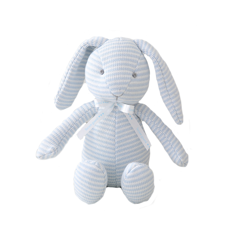 Creative plush toy 100%cotton knitted wool rabbit elephant doll baby toy gift stuffed <strong>animals</strong>