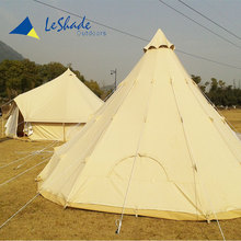 Best selling flame resistant retardant travelling bell tent for big party